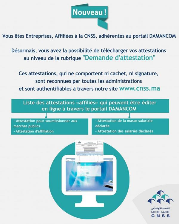 TÉLÉCHARGER APPLICATION DAMANCOM